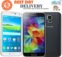 Brand New Samsung Galaxy S5 G900F 4G 16GB White-Black Unlocked Smartphone UK