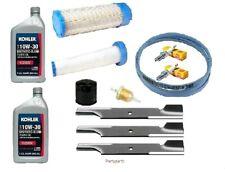 "61"" Bad Boy Blades Belt Filter Maintenance Tune Up Kit For REBEL W/ Kawasaki"