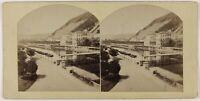 Ville A Identificare Francia Foto Pl52L2n1 Stereo Vintage Albumina c1865