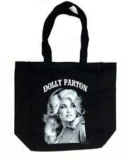 DOLLY PARTON Cotton Canvas Tote Bag Shopping Bag Music Memorabilia New