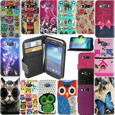 LEATHER WALLET BOOK STYLE FLIP PHONE CASE COVER FOR SAMSUNG GALAXY A3 A5 A7 2017