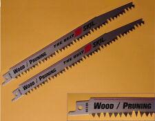 """Saw Blades Reciprocating X 9"""" Long VeryUgly Blade Cut Both Ways 5 Teeth Per Inch"""