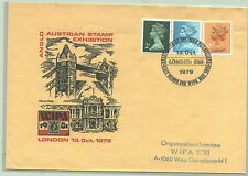 Anglo-Austrian Stamp Exhibition London 1979 Brief an WIPA Kommittee Wien