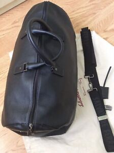 Salvatore Ferragamo Full Leather Weekend Bag
