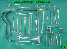 108 INSTRUMENTS BASIC LAPAROTOMY SET SURGICAL MEDICAL DS-677