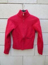 Gilet en laine ADIDAS rouge taille 36 D 34