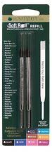 2 x Parker Compatible Ballpoint Pen Refills ORANGE