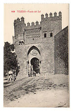 Puerta Del Sol - Toledo Photo Postcard c1910