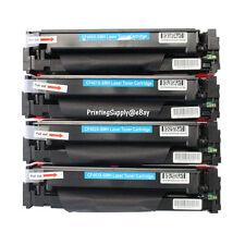 4PK Color Toner For HP 201X CF400X-CF403X LaserJet Pro M252 M277dw M252dw M277