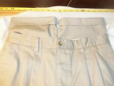 Chaps pleated & cuffed cotton 33 x 33 #159
