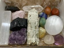 15 pcs Premium Crystals Healing Kit In Box, Crystals Gift Set!