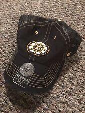Boston Bruins 47 Brand Closer Taylor Flex Fit Mesh Hat Cap M/L