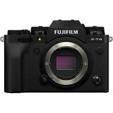 Fujifilm X-T4 Mirrorless Digital Camera Body only - Black [Int'l Ver]