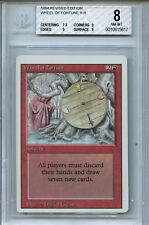 MTG Revised Wheel of Fortune BGS 8.0 NM-MT Card Magic Amricons 5617