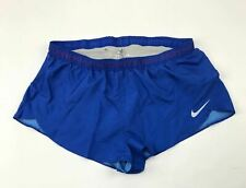 New Nike Women's Medium Digital Race Day Elite Short Running Blue 835973 $65