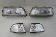 EDM ZC glass single bulb headlights 88-91 Honda Civic & CRX JDM EF Ef7 Si dx