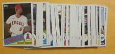 2020 Topps Series 2 1985 35th Anniversary Inserts - Complete Your Set