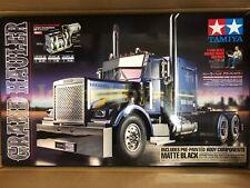 Tamiya 56356 1/14 RC Grand Hauler Black Edition - Matte Black Truck Kit