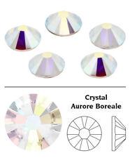 1440 Crystal AB - 2058 Swarovski Ss7 Glue on Flat Backs Xilion Rose (2 Packs)