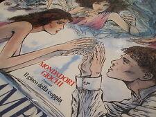 Innamoramento e amore - gioco da tavolo vintage - illustrazioni Guido Crepax