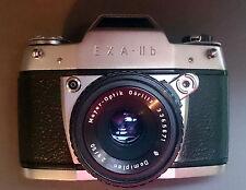 Kamera Exa II b mit Domiplan 2,8/50 v. Meyer Optik Görlitz 1964- 66