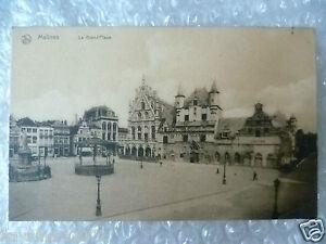 Postcard Malines La Grand Place, Belgium