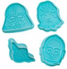 Star Wars 4 pc Plunger Cookie Cutter Set