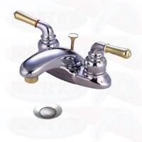 Chrome Bathroom Sink Faucet Faucets New KB624