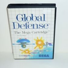 JEU SEGA MASTER SYSTEM COMPLET GLOBAL DEFENSE