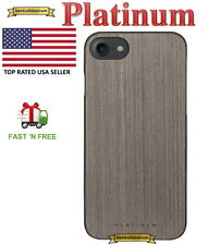 Platinum Wood  Slim Case Cover for Apple iPhone 7 Graywash PT-MA7GW Gray Wood