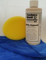 16oz Poorboy's White Diamond With Cloth And Applicator Pad