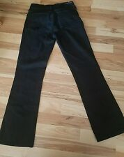 Citizens Of Humanity Amber Black Jeans Pants Size 26 Bootcut (Measured 28x29)