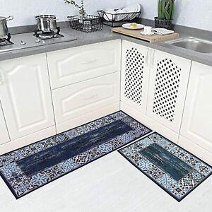 Blau, Baumwolle, 50 X 80 CM & 130 CM, Rechteckig Form Teppich Für Heim Dekor