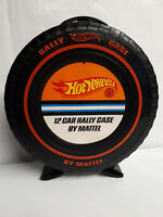 Vintage Mattel HOT WHEELS Rally Case for REDLINE Die Cast Cars GREAT CONDITION