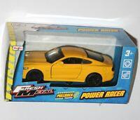 Maisto - FORD MUSTANG GT '15 (Yellow) 'Fresh Metal' Power Racer Model Scale 1/38