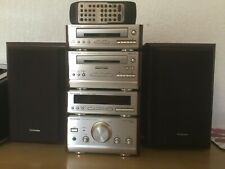 Technics HD501 HiFi System SE ST SL RS Separates with 2 Speakers& Remote