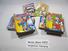 Micky Maus  Jahrgang 2003 / Nr. 1-53 komplett !!! Ehapa Verlag  64637