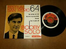 BOBBY SOLO   - EP SPAIN RICORDI VERGARA 354021  / LISTEN - SAN REMO 1964