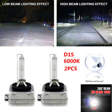 2PCS D1S 6000K Xenon Bulbs Lamps Hid Car Headlight White Light Waterproof IP68