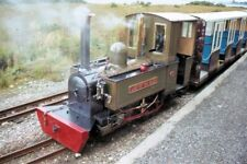 PHOTO  STEAM ENGINE LADY OF THE ISLES. ISLE OF MULL RAILWAY AT CRAIGNURE STATION