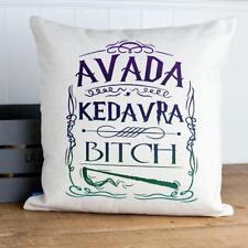 Avada Kedavra Cushion Cover Harry Wizard Christmas Pillow Gift KC01