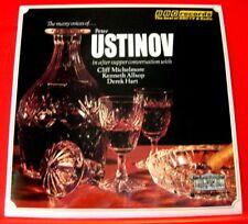 Peter Ustinov The Many Voices Of LP UK RI 1973 BBC 1973 Cliff Michelmore+ VINYL