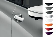 Nissan Micra 08/13 - 2016 Mango de puerta delantera cubierta Negro-Con Ik (KE6051K052BK)