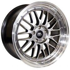 MST LeMan 19x9.5 +35 5x114.3 Hyper Black Accord Civic IS250 GS300 GS400 WRX TC
