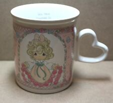 "1996 Enesco Precious Moments Mug, ""You have touched so many hearts"""
