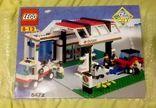 Lego Town CLASSIC Town 6472 Gas N' Wash Express WITH BOX + INSTRUCTIONS