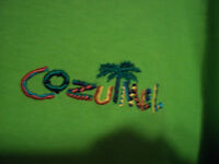 Cozumel Mexico T-Shirt Green Large