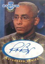 Richard Biggs as Dr. Stephen Franklin Autograph SA5, Babylon 5 Profiles