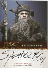 The Hobbit An Unexpected Journey Autograph A20 Sylvester McCoy