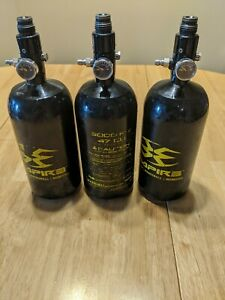 3 Empire Paintball Air Tanks, Expired